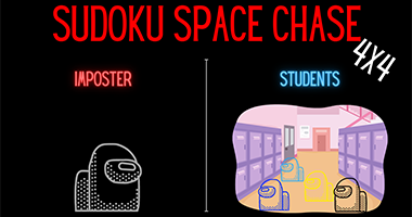 Sudoku Space Chase Camp 4x4