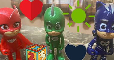 PJ Mask Trivia, Letter & Number Recognition & Show and Tell