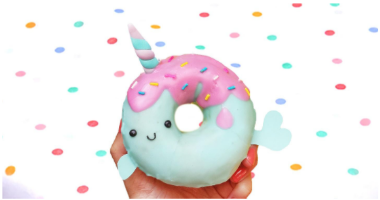 45min Clay Treats Sculpting Lesson: Narwhal Donut