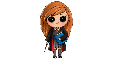 60min Draw Harry Potter Characters Art Lesson: Hermoine