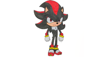 60min Drawing Lesson of Sonic Character