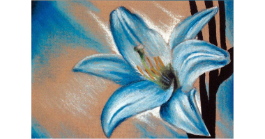 45 Minute Lily Flower Painting