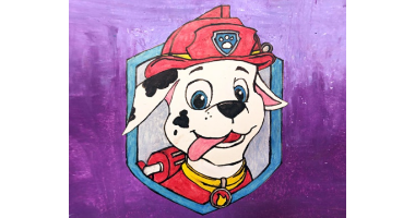60min Drawing Lesson of Paw Patrol Character