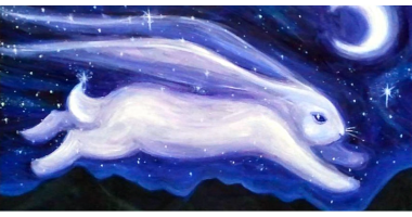60min Drawing Lesson: Bunny In The Night Sky