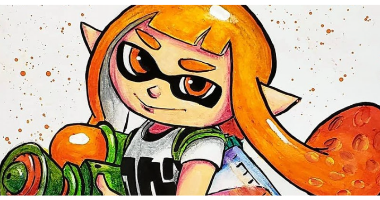 60min Drawing Lesson of Splatoon Character