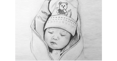 60min Sketching Art Lesson - Baby Sketch