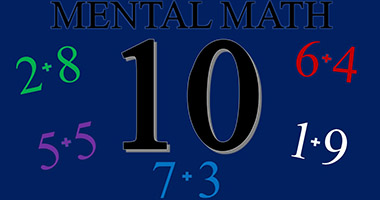 Mental Math Class For Beginners - Complements for 10
