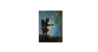 60min Drawing Lesson: Night Time Fairy