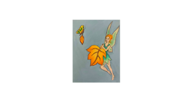60min Drawing Lesson: Day Time Fairy
