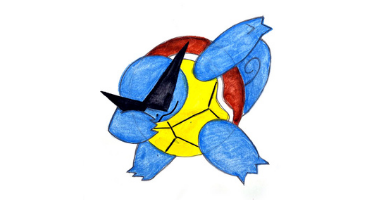 45min Drawing Lesson of Squirtle